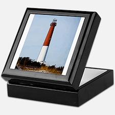 Old Barney Lighthouse Keepsake Box
