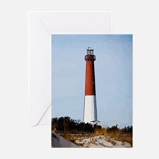 Old Barney Lighthouse Greeting Cards