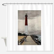 Barnegat Light Lighthouse NJ Shower Curtain