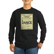 Prescription Dance Antique T