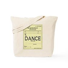 Prescription Dance Antique Tote Bag