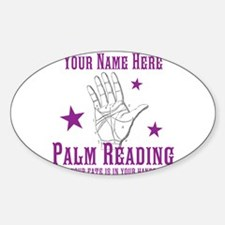 Palm Reading Decal