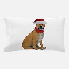 Staffie Christmas Pillow Case