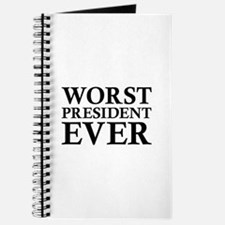 Worst President Ever Journal