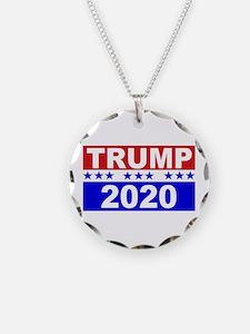Trump 2020 Necklace Circle Charm