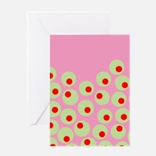 Olives Greeting Cards