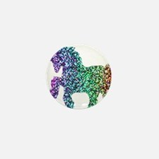 unicorn rainbow Mini Button (10 pack)