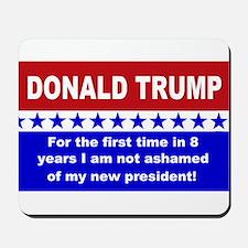 Donald Trump first time Mousepad