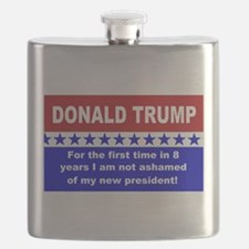 Donald Trump first time Flask