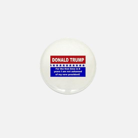 Donald Trump first time Mini Button