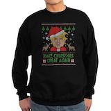Donald trump Sweatshirt (dark)