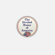 The divided states of America Mini Button