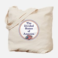 The divided states of America Tote Bag