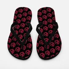 Cute Anarchism Flip Flops