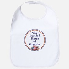 The divided states of America Baby Bib