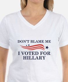 I Voted For Hillary Shirt
