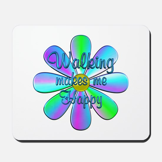 Walking Happy Mousepad