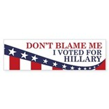 Don 27t blame me i voted for hillary 10 Pack