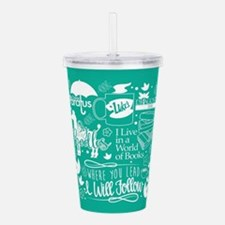 Gilmore Girls Collage Acrylic Double-wall Tumbler