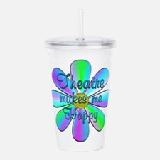 Theatre Happy Acrylic Double-wall Tumbler