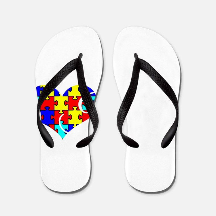 Cute Advocate awareness Flip Flops
