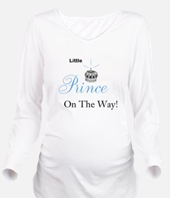 Little Prince On The Way - Plain T-Shirt
