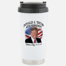 President Trump Stainless Steel Travel Mug