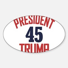 President Trump 45 Decal