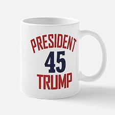 President Trump 45 Mugs