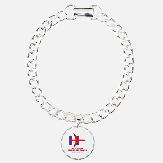 Cute Republicans Charm Bracelet, One Charm