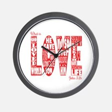 What Is Love Wall Clock