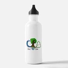 Tulane green wave Water Bottle