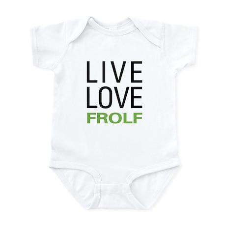 Live Love Frolf Infant Bodysuit