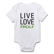 Live Love Frolf Infant Bodysuit