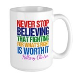 Hillary Large Mugs (15 oz)