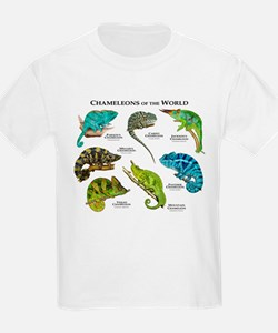 Chameleons of the World T-Shirt