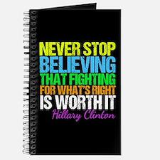 Hillary Motivational Fight Journal