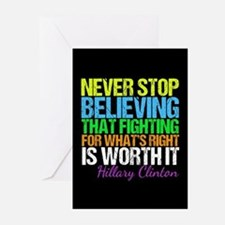 Hillary Motivational Fig Greeting Cards (Pk of 20)