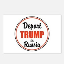 Deport Trump to Russia Postcards (Package of 8)