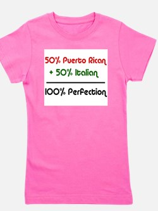 Italian & Puerto Rican Ash Grey T-Shirt
