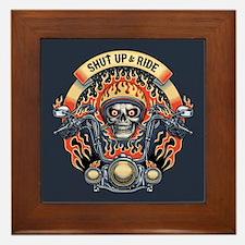 Shut Up & Ride -1116 Framed Tile