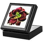 Dark Purple Daylily Keepsake Box