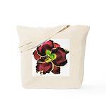 Dark Purple Daylily Tote Bag