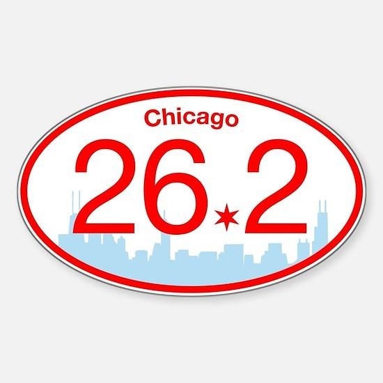 Chicago Marathon Bright Decal