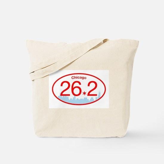 Chicago Marathon Bright Tote Bag