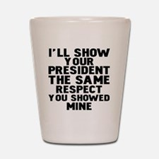Cool Pro obama Shot Glass