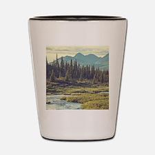 Mountain Meadow Shot Glass