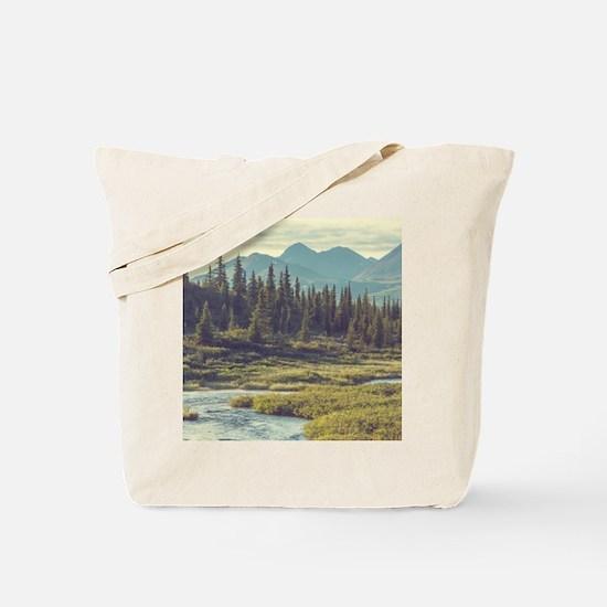 Mountain Meadow Tote Bag