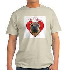 Shar Pei Valentine T-Shirt