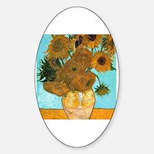 Cute Sunflower van gogh Decal